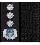Pogony Politsii general 1 ranga (na lipuchke)