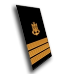 The new-model navy models of Captain 3 rank