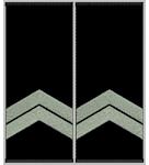 Shoulder straps Капрал Полиции