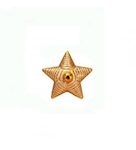 Звезда золотистая 13 мм