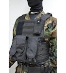 Vest underneath armor plates